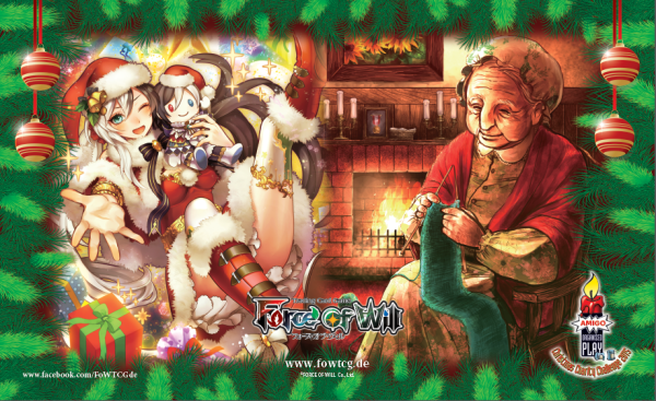 Force of Will Christmas Charity Lumia Oma Spielmatte