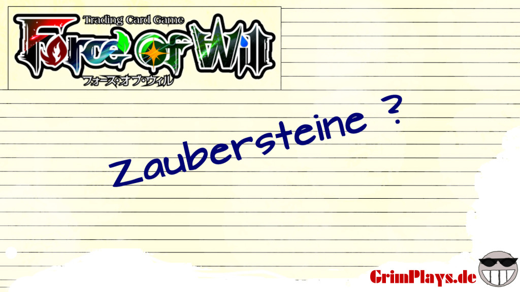 Force of Will Zaubersteine Tutorial