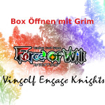 Force of Will Vingolf Engage Knights Unboxing