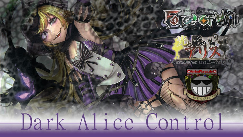 Force of Will Deck Profile Dark Alice Metzelmaid