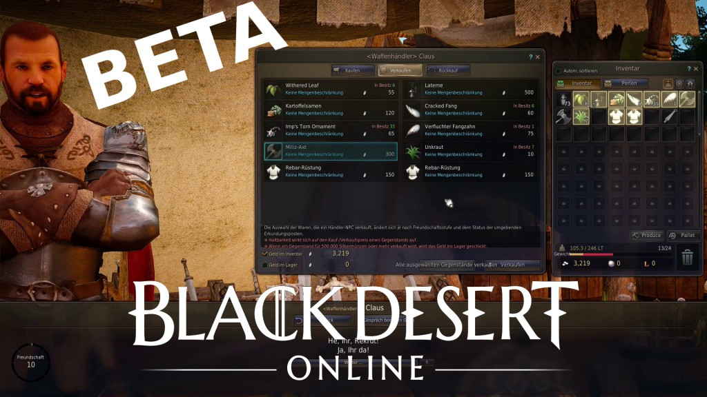 Black desert online let's play beta german