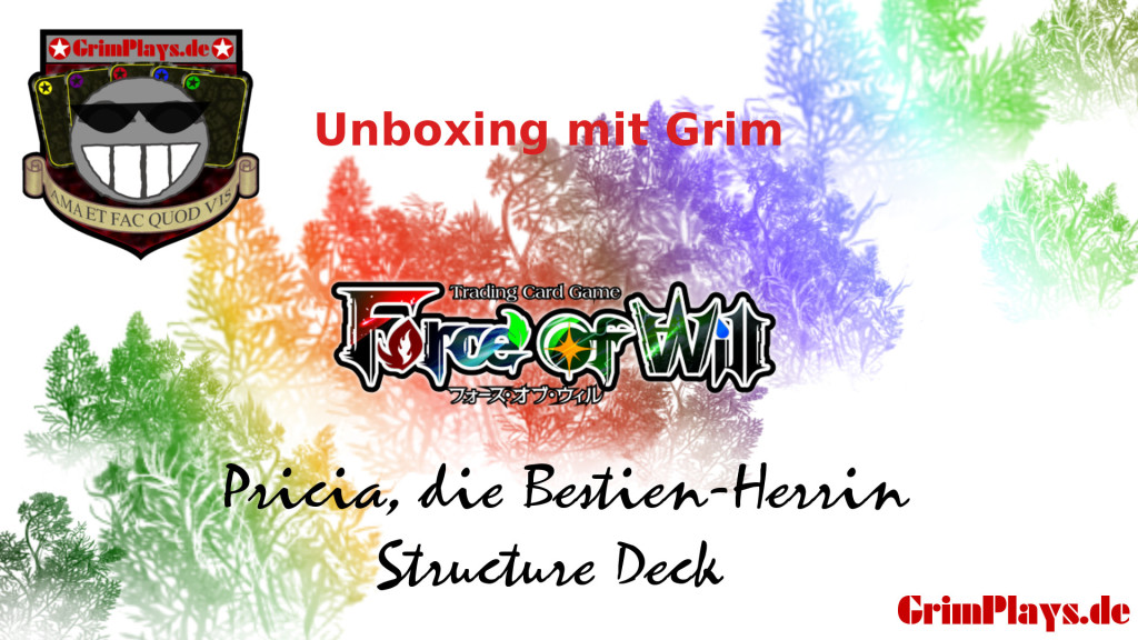 Force of will Pricia Bestien Herrin Unboxing