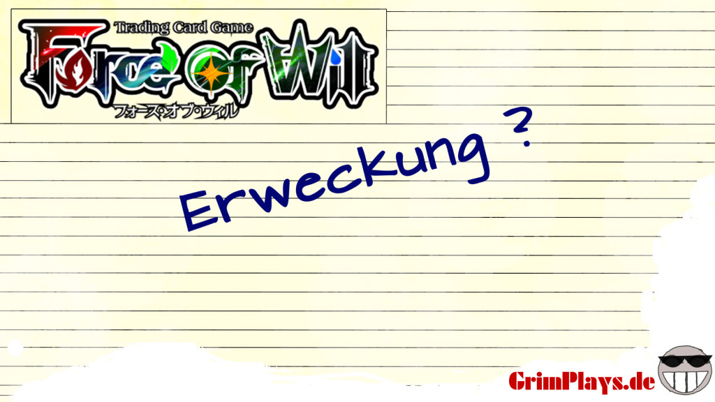 force of will tutorial erweckung