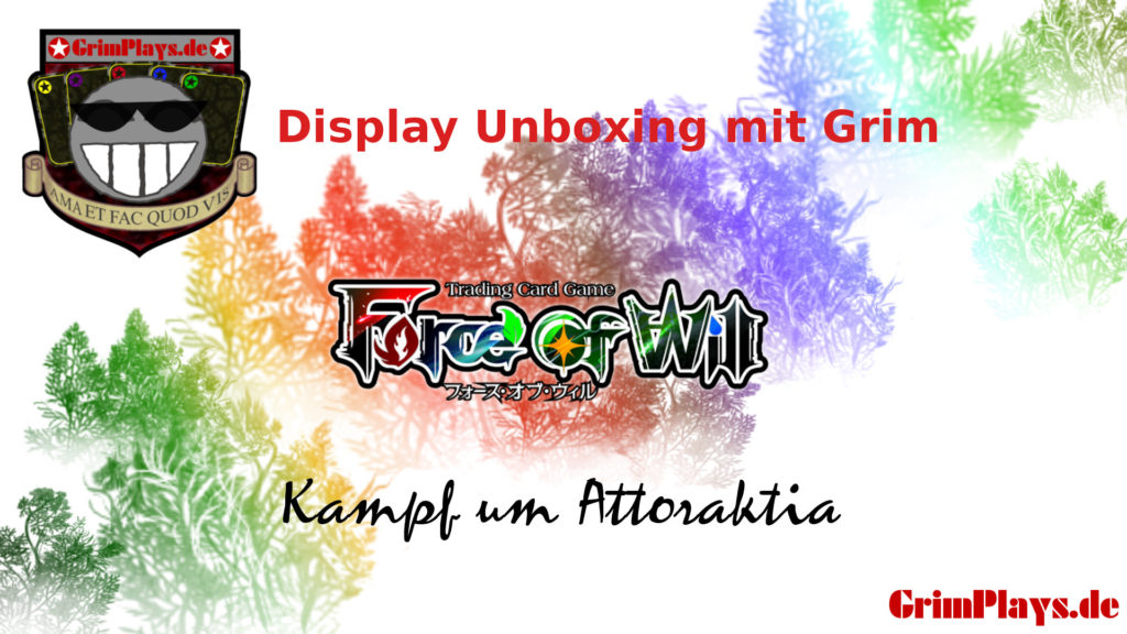 force of will unboxing kampf um attoraktia