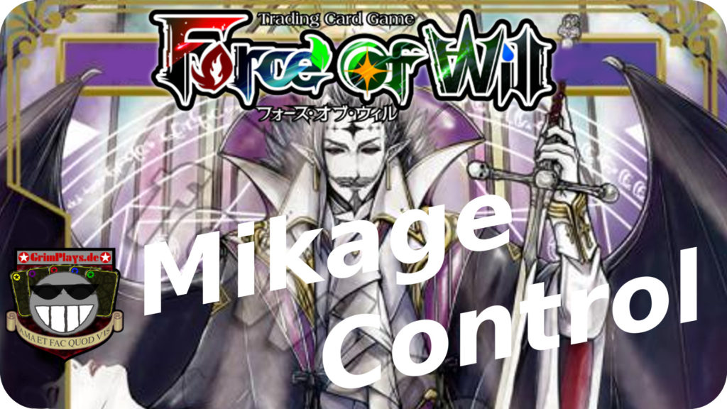 force of will mikage deck profile new frontiers